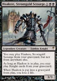 Haakon, Stromgald Scourge